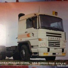 Coches y Motocicletas: CATALOGO CAMION PEGASO TECNO 1234. Lote 172111009