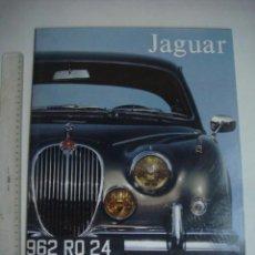 Carros e motociclos: CARPETA JAGUAR CON 6 IMAGENES PUBLICITARIAS....SIN USO.( DENTRO DE LA CARPETA).. Lote 140764714