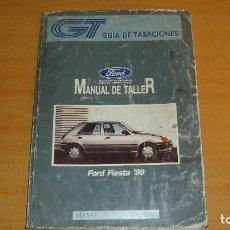 Coches y Motocicletas: MANUAL TALLER GUÍA TASACIONES FORD FIESTA 89 1991 REPARACIÓN AUTOMÓVIL COCHE. Lote 140853958