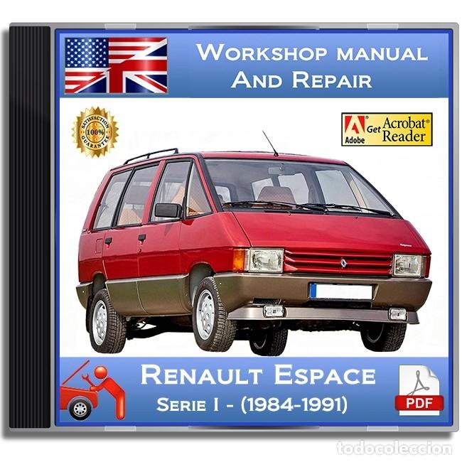 renault espace - series i - (1984-1991) - works - buy catalogs