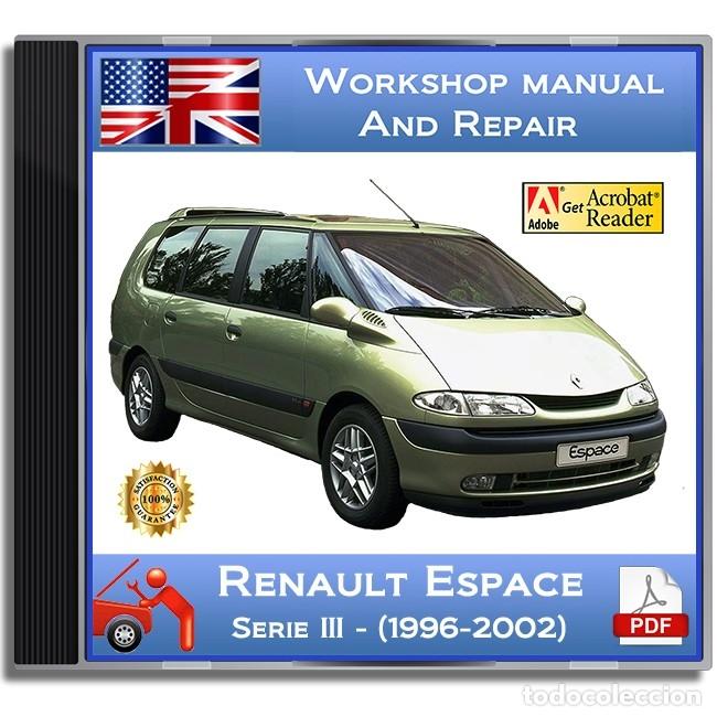 renault espace - serie iii - (1996-2002) - work - buy catalogs
