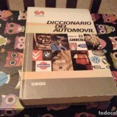 Coches y Motocicletas: GRAN TOMO DICCIONARIO DEL AUTOMOVIL CEAC DE LA A A LA Z AÑO 1990. Lote 141131038