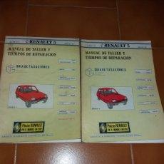 Coches y Motocicletas: MANUAL DE TALLER Y TIEMPOS REPARACION RENAULT 5. Lote 141133414