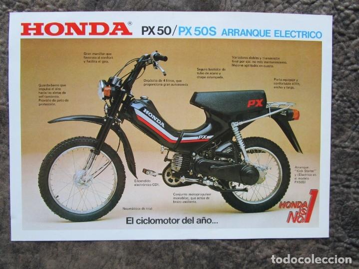 Ongebruikt catalogo original honda px 50 y px 50 s - Kaufen Kataloge, Werbung YK-27