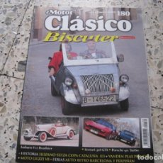 Coches y Motocicletas: MOTOR CLASICO Nº180: BISCUTER; AUBURN V12; FERRARI 308 GTS; PORSCHE 911 TURBO; ETC.... Lote 141151230