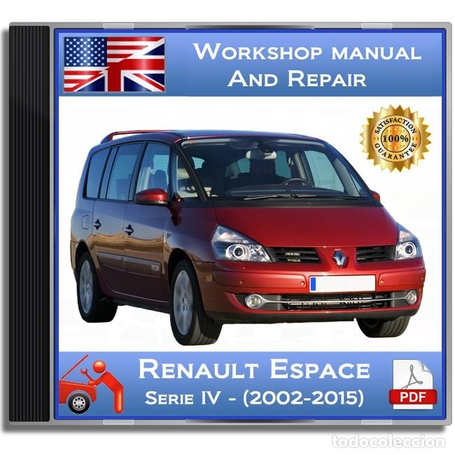 renault espace - series iv - (2002-2015) - work - comprar catálogos