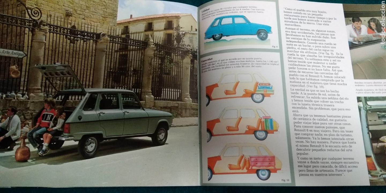 Coches y Motocicletas: Folleto renault 6 gtl - Foto 3 - 141435232