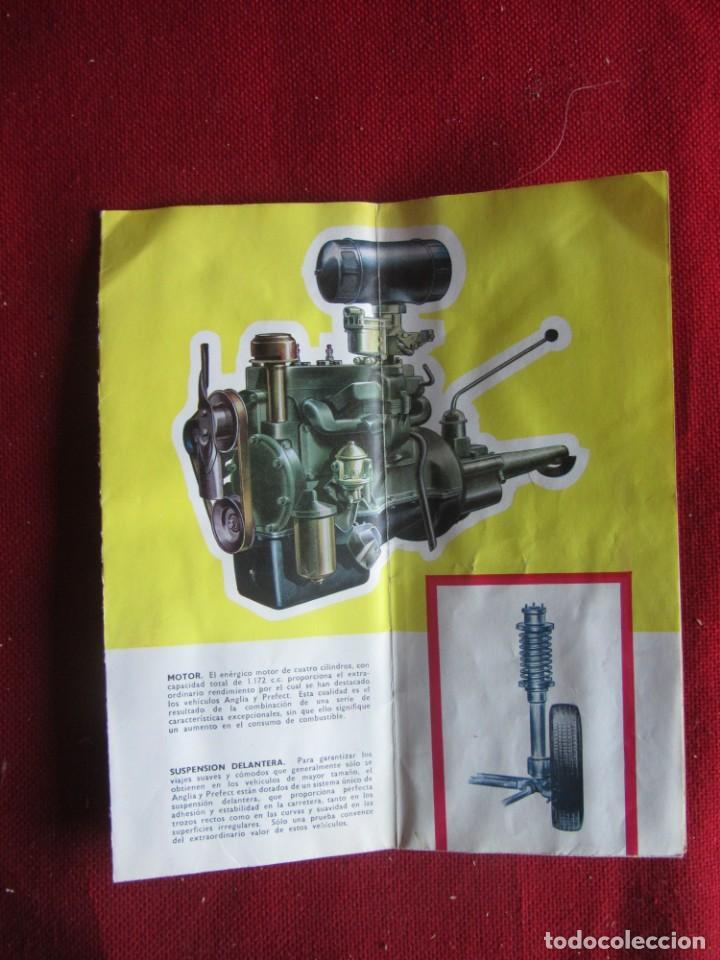 Coches y Motocicletas: CATÁLOGO PUBLICIDAD DESPLEGABLE FORD ANGLIA PERFECT - Foto 2 - 141730898