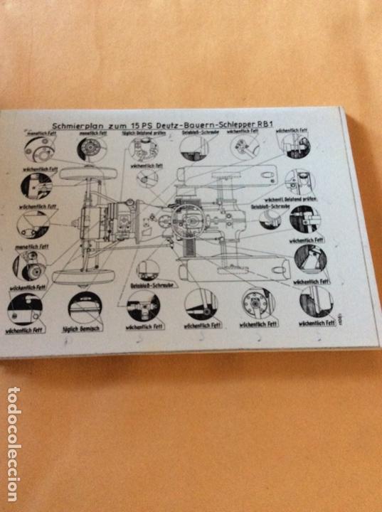 Coches y Motocicletas: DEUTZ H 1053-190 MANUAL EN ALEMAN. NUEVO - Foto 3 - 141911494