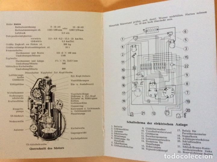 Coches y Motocicletas: DEUTZ H 1053-190 MANUAL EN ALEMAN. NUEVO - Foto 2 - 141911494