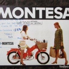Coches y Motocicletas: PROSPECTO MINI CATALOGO ORIGINAL MONTESA MINI MONTESA COMERCIAL IMPALA PUBLICIDAD ORIGINAL. Lote 128181367