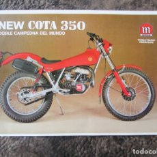 Coches y Motocicletas: CATALOGO ORIGINAL MONTESA NEW COTA 350. Lote 27478486