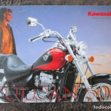 Coches y Motocicletas: CATALOGO ORIGINAL KAWASAKI VULCAN 500. Lote 37551281