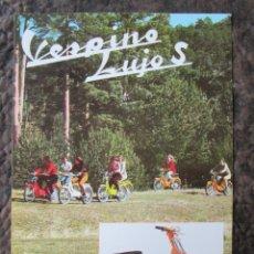 Coches y Motocicletas: CATALOGO ORIGINAL VESPINO LUJO S VESPA. Lote 113191536