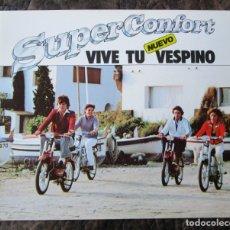 Coches y Motocicletas: CATALOGO ORIGINAL VESPINO SUPER CONFORT VESPA SC. Lote 120397736