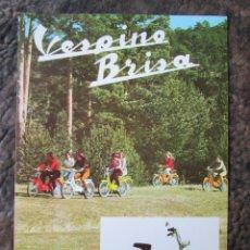Coches y Motocicletas: CATALOGO ORIGINAL VESPINO BRISA VESPA. Lote 27478489