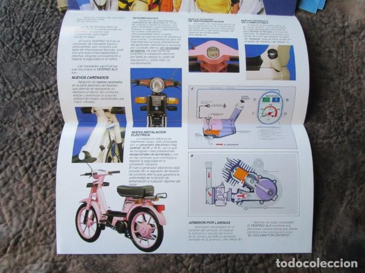 Coches y Motocicletas: triptico original grande vespino alx lider catalogo vespino vespa - Foto 2 - 173676289