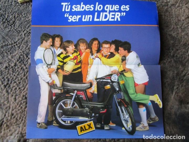 Coches y Motocicletas: triptico original grande vespino alx lider catalogo vespino vespa - Foto 4 - 173676289