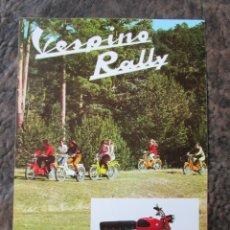 Coches y Motocicletas: CATALOGO ORIGINAL VESPINO RALLY VESPA. Lote 60318245