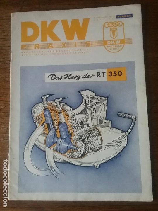 Coches y Motocicletas: DKW RT 350 , manual original. - Foto 3 - 142359326