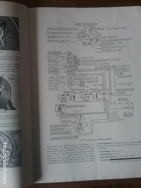 Coches y Motocicletas: DKW RT 350 , manual original. - Foto 4 - 142359326