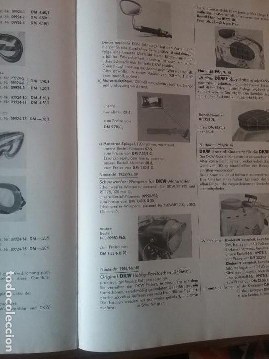 Coches y Motocicletas: DKW RT 350 , manual original. - Foto 6 - 142359326