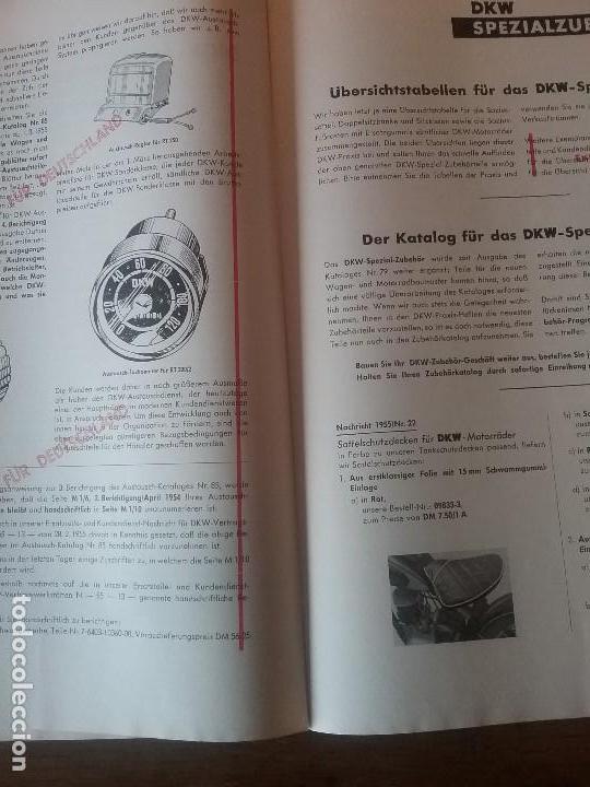 Coches y Motocicletas: DKW RT 350 , manual original. - Foto 8 - 142359326