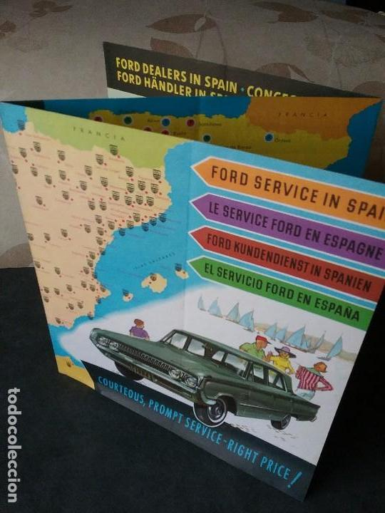 FORD , CATÁLOGO ORIGINAL. (Coches y Motocicletas Antiguas y Clásicas - Catálogos, Publicidad y Libros de mecánica)