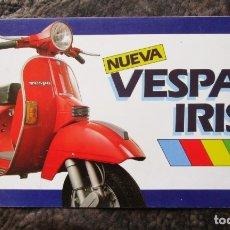 Coches y Motocicletas: CATALOGO ORIGINAL DE NUEVA VESPA IRIS. Lote 27518727