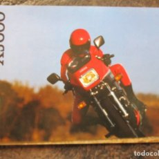 Carros e motociclos: CATALOGO ORIGINAL YAMAHA XJ 600. Lote 37552128