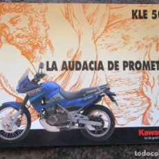 Coches y Motocicletas: CATALOGO ORIGINAL KAWASAKI KLE 500. Lote 37551567