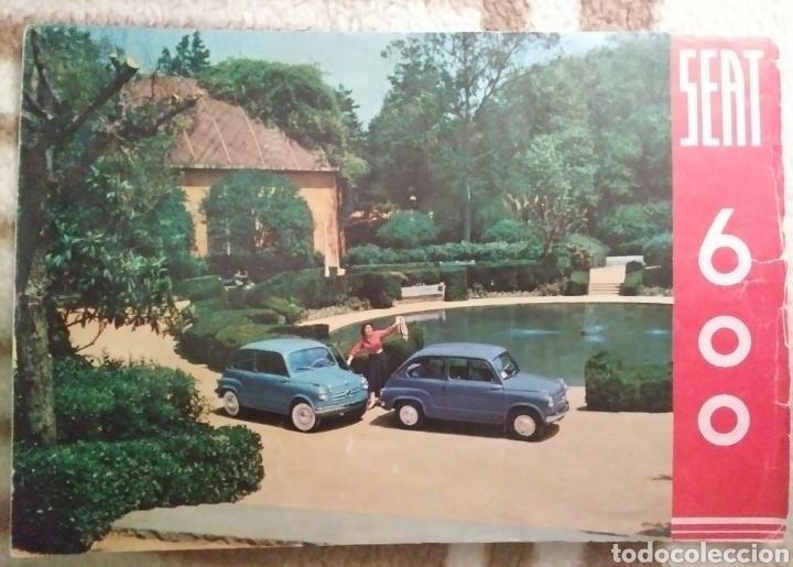 CATÁLOGO SEAT 600 DE 1957 (Coches y Motocicletas Antiguas y Clásicas - Catálogos, Publicidad y Libros de mecánica)