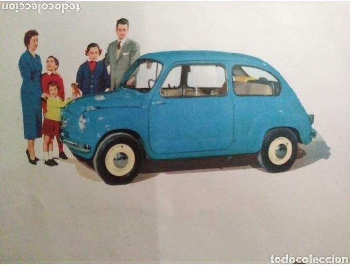 Coches y Motocicletas: Catálogo Seat 600 de 1957 - Foto 3 - 142667973