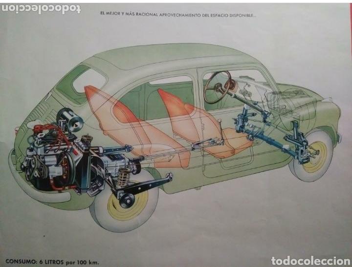 Coches y Motocicletas: Catálogo Seat 600 de 1957 - Foto 5 - 142667973