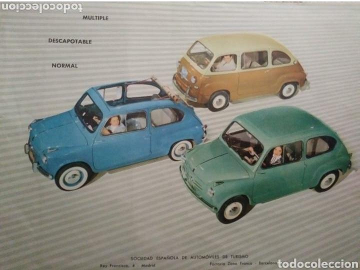Coches y Motocicletas: Catálogo Seat 600 de 1957 - Foto 6 - 142667973