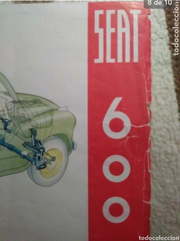 Coches y Motocicletas: Catálogo Seat 600 de 1957 - Foto 7 - 142667973