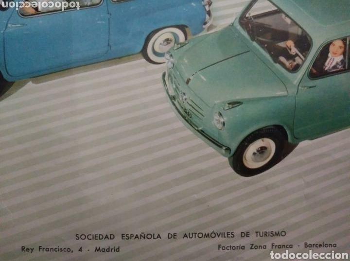 Coches y Motocicletas: Catálogo Seat 600 de 1957 - Foto 8 - 142667973