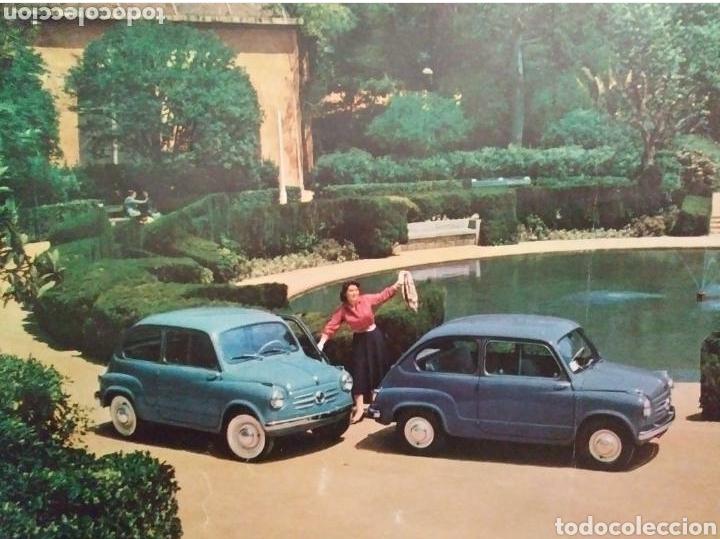 Coches y Motocicletas: Catálogo Seat 600 de 1957 - Foto 9 - 142667973