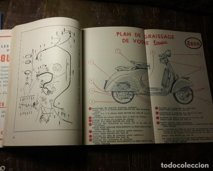 Coches y Motocicletas: Vespa , manual original frances . - Foto 4 - 142685718