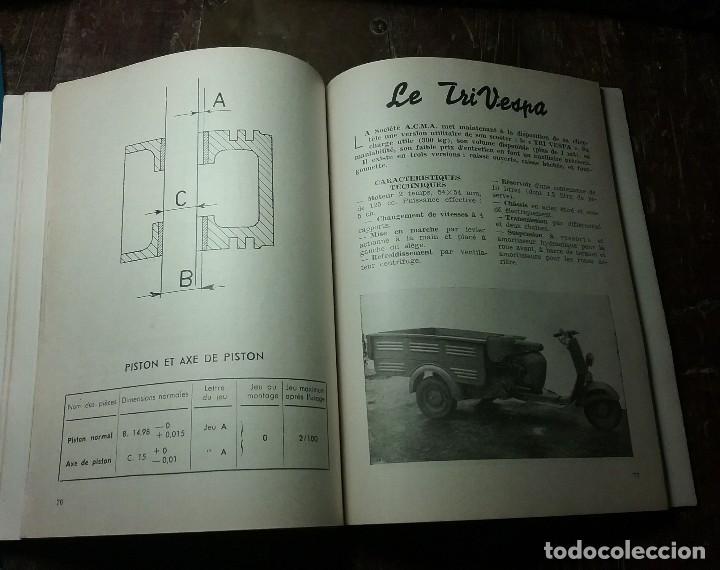 Coches y Motocicletas: Vespa , manual original frances . - Foto 6 - 142685718