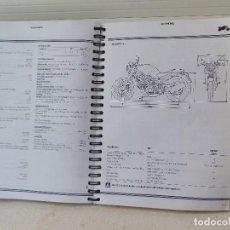Coches y Motocicletas: GRUESO MANUAL DE TALLER MOTO MONSTER M 900. EN ESPAÑOL, ITALIANO, INGLÉS, FRANCÉS Y ALEMAN.. Lote 142791858
