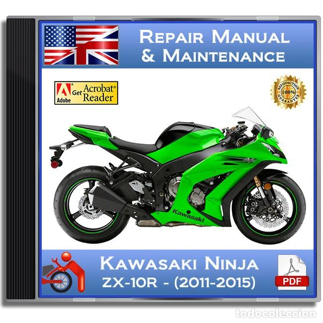 Coches y Motocicletas: Kawasaki Ninja ZX-10R - Series (2011-2015) - Service Manual - English - DVD - PDF - Foto 1 - 142874310
