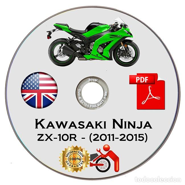 Coches y Motocicletas: Kawasaki Ninja ZX-10R - Series (2011-2015) - Service Manual - English - DVD - PDF - Foto 2 - 142874310