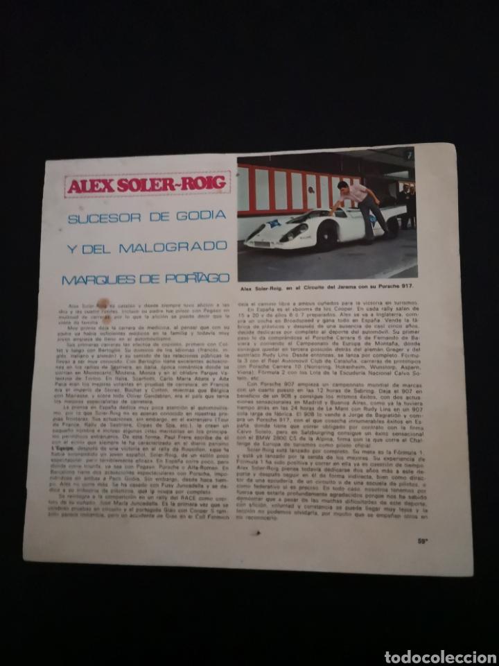 Coches y Motocicletas: Lote de 7 fotos de 23x22'5 de los mejores pilotos de la F1 de los 60s Y 70s - Foto 11 - 142880577