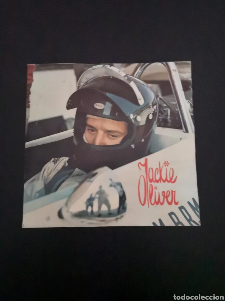 Coches y Motocicletas: Lote de 7 fotos de 23x22'5 de los mejores pilotos de la F1 de los 60s Y 70s - Foto 14 - 142880577
