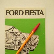Coches y Motocicletas: MANUAL DEL PROPIETARIO FORD FIESTA - ESPAÑOL. Lote 143025198
