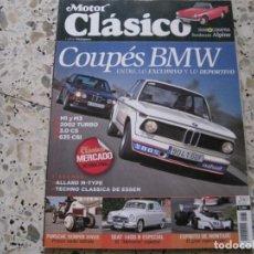 Coches y Motocicletas: MOTOR CLASICO Nº280: SUNBEAM ALPINE; SEAT 1400 B; BMW M1; BMW M3; BMW 2002; BMW 3.0 CS; ETC.... Lote 143110426