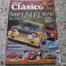 Coches y Motocicletas: MOTOR CLASICO Nº281: SEAT 124 FL; SKODA S110 R; KAPI JIP; CITROËN MEHARI; ROLLSON & BRUNN; ETC.... Lote 143110602
