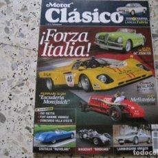 Coches y Motocicletas: MOTOR CLASICO Nº282: LANCIA FULVIA; ALFA ROMEO 6C; ISO; LAMBORGHINI URRACO; FIAT MEFISTOFELE; ETC.... Lote 143110762