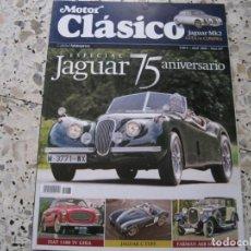 Coches y Motocicletas: MOTOR CLASICO Nº267: JAGUAR MK2; FIAT 1100 TV; JAGUAR C TYPE; JAGUAR XK 120; FARMAN A6B; ETC.... Lote 143111130